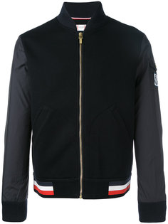 mix media baseball jacket  Moncler Gamme Bleu