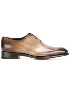 gradiant colour loafers Santoni