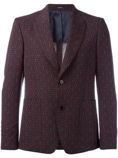пиджак с орнаментом Alexander McQueen