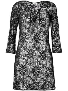 lace beach dress Amir Slama
