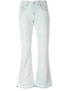 расклешенные джинсы  MSGM