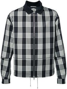 plaid zipped jacket Oamc