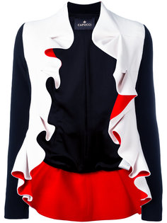 пиджак с рюшами Capucci