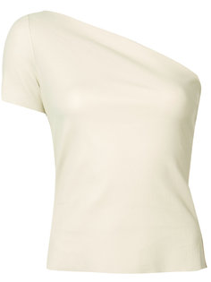one-shoulder top Helmut Lang