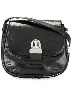 сумка на плечо с отделкой заклепками Mm6 Maison Margiela