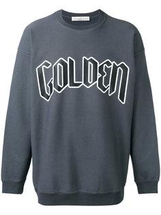 logo front sweatshirt Golden Goose Deluxe Brand