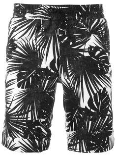 шорты с принтом пальм Hydrogen