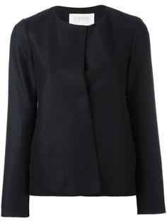 куртка без воротника Harris Wharf London
