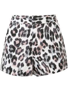 leopard print shorts Joie