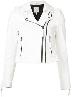 cropped biker jacket Joie