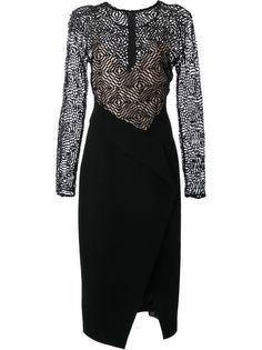 платье с контрастной панелью Bianca Spender