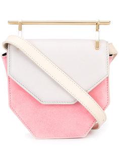 colour block cross-body bag  M2malletier