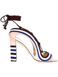 босоножки Crazy Stripes Paula Cademartori