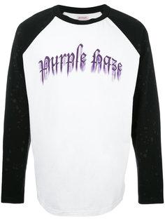 толстовка с принтом Purple Haze Palm Angels
