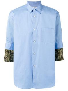 camouflage detail shirt Comme Des Garçons Shirt