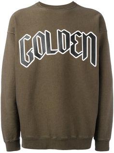 typography branded sweatshirt Golden Goose Deluxe Brand