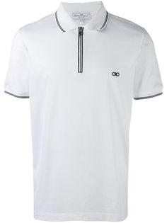 футболка-поло с логотипом Salvatore Ferragamo
