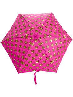 зонт с принтом медведей Moschino