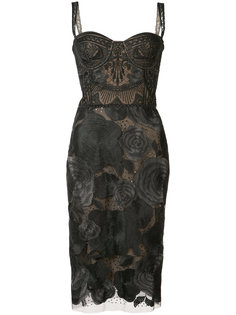 floral dress Marchesa Notte
