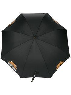 зонт с медведями и логотипом Moschino