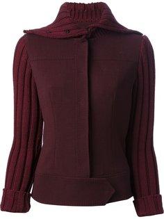 куртка с ребристыми рукавами Dolce & Gabbana Vintage