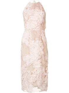halterneck dress Marchesa Notte