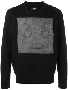 face detail sweatshirt Fendi