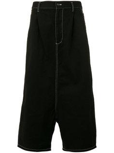 drop-crotch cropped trousers Comme Des Garçons Shirt