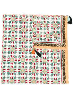 шарф с этническим принтом Forte Forte