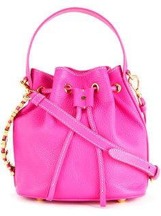 сумка-ведро с логотипом Moschino