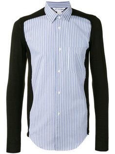 knitted arms striped shirt Comme Des Garçons Shirt