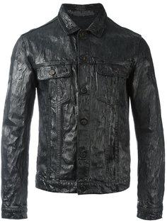 куртка-рубашка с вощеным эффектом Jil Sander