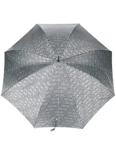 зонт с принтом логотипа Moschino