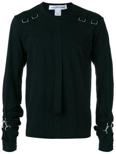 strappy details longsleeved T-shirt Comme Des Garçons Shirt