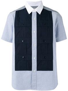 multi-pockets shortsleeved shirt Ganryu Comme Des Garcons