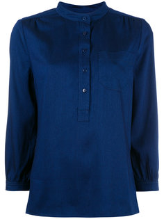 блузка с V-образным вырезом A.P.C.