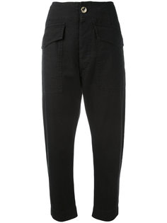 high-waist cropped trousers Isabel Marant Étoile