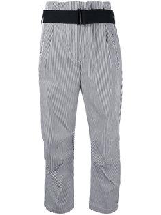 полосатые укороченные брюки Rag & Bone