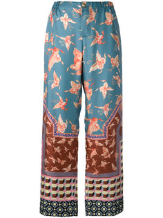 flared printed pants  F.R.S For Restless Sleepers
