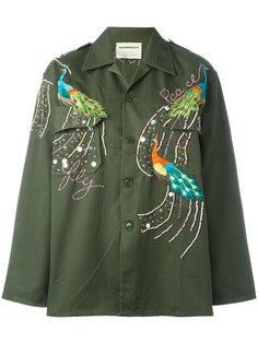 куртка Peacock в стиле милитари Night Market