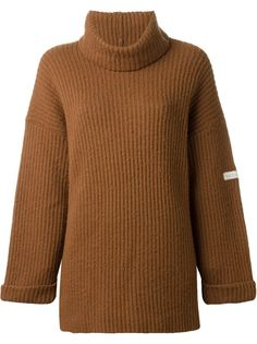свитер с воротником с отворотом Krizia Vintage