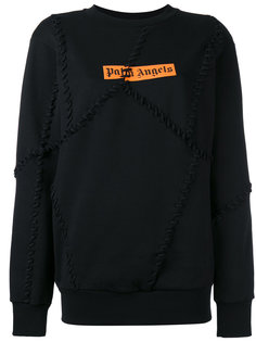 big seams sweatshirt  Palm Angels