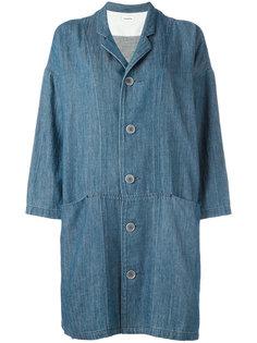 джинсовое пальто с массивными карманами Plantation