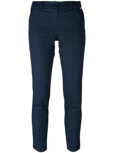укороченные брюки с шлицами по бокам Twin-Set
