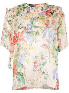 floral print blouse  Rochas