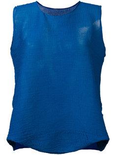 расклешенная блузка Issey Miyake Cauliflower