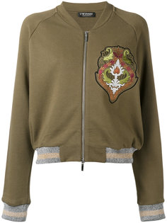 куртка-бомбер с блестящей отделкой Twin-Set