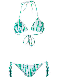printed triangle bikini set Brigitte