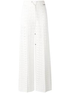 прямые вязаные брюки Twin-Set