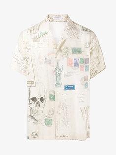 рубашка с короткими рукавами Alexander McQueen